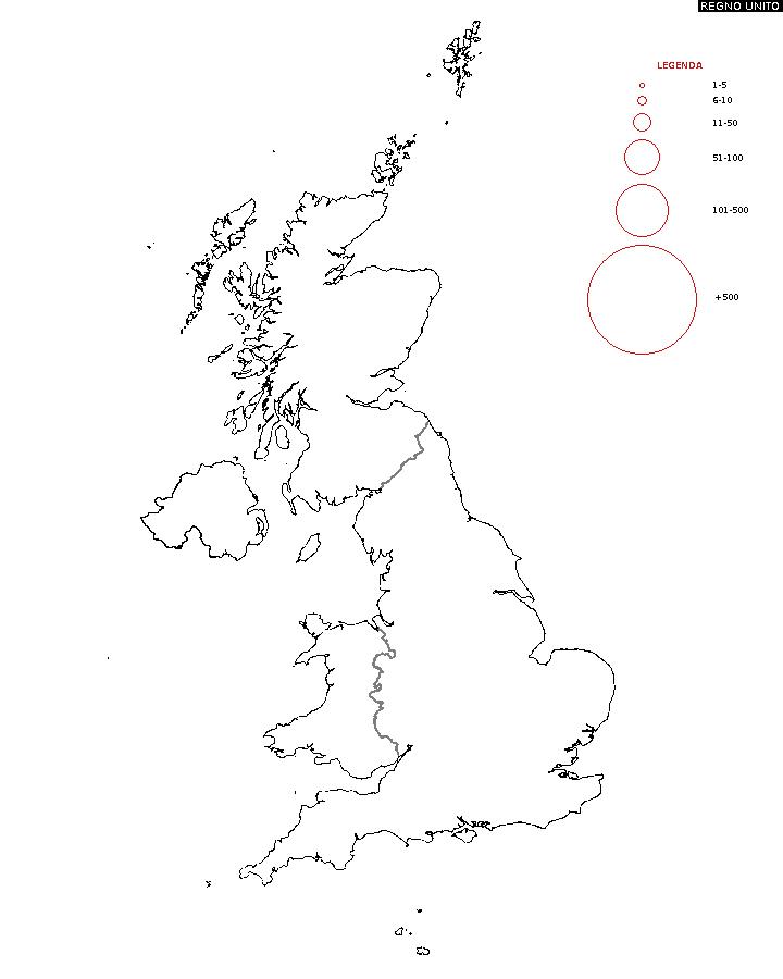 Immagini Della Cartina Del Regno Unito.Diffusione Del Cognome Mappa Del Cognome Del Regno Unito